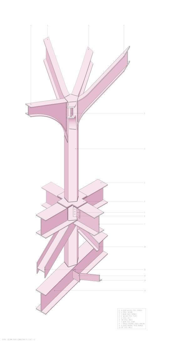 Detail-column-connection